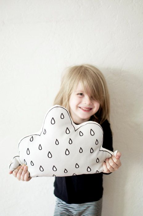 Cloud Cushion by Plumed on Etsy - Love her pillows