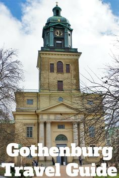 Travel the World: Things to do in Gothenburg Sweden when you have 48 hours. #Gothenburg #Sweden #travel