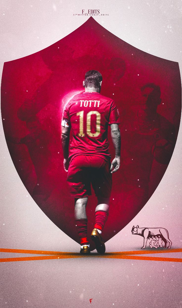 No Totti, no party by @F_Edits