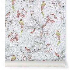 Papier peint Jungle 10x53 cm Vert