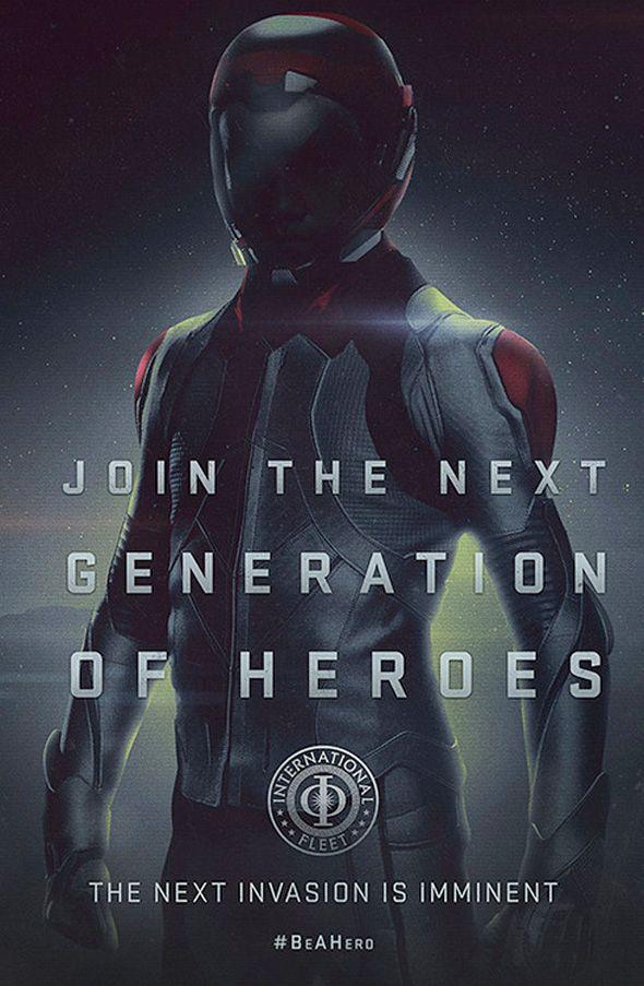 Ender's Game movie poster #beahero
