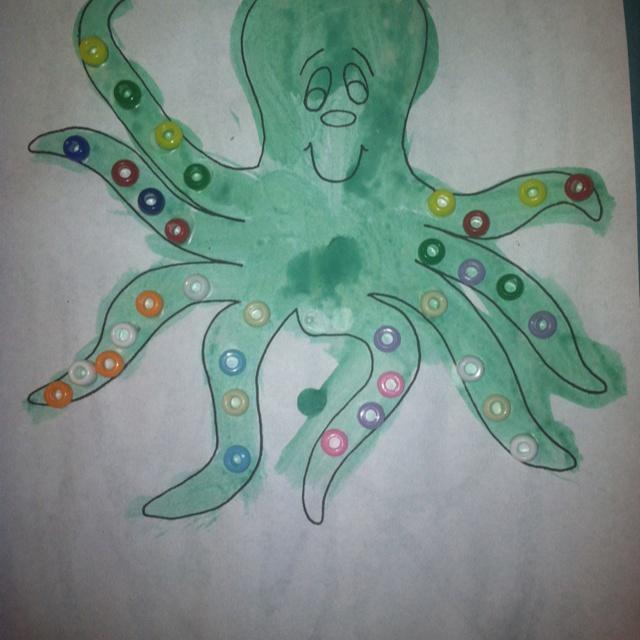 114 best sealife images on pinterest kid activities for Octopus craft for preschool