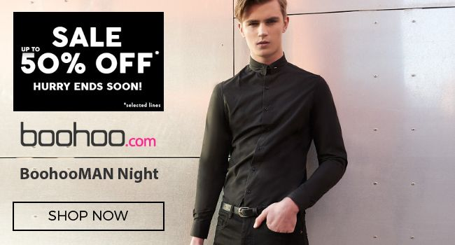 BoohooMAN Night is for the dapper dresser, with crisp shirts and tailored skinnies taking your look to the next level! Do the smart thing, and dress for the occasion with this eveningwear collection.