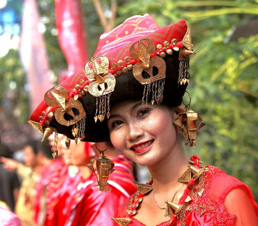 Batak Karo girl - North Sumatra - Indonesia