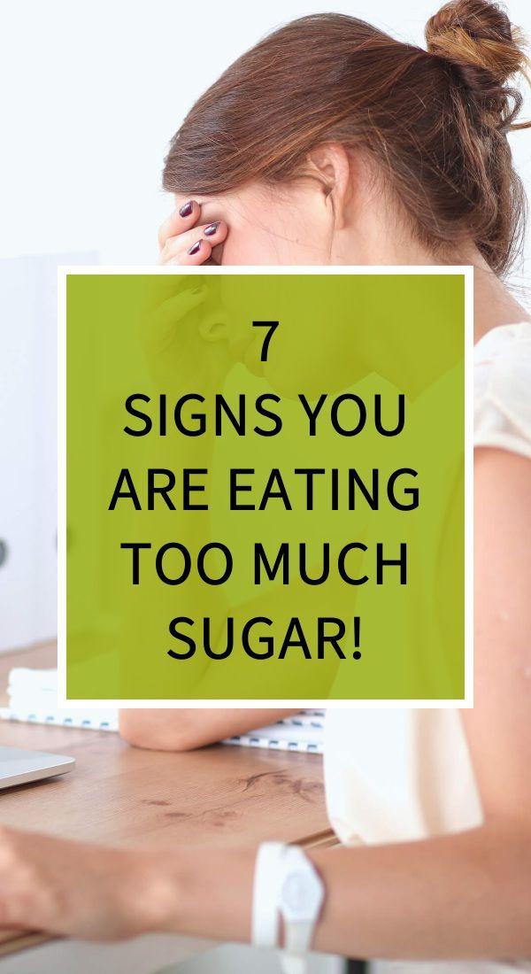 7 Signs You Are Eating Too Much Sugar Diy Herbal Remedies Herbal Remedies