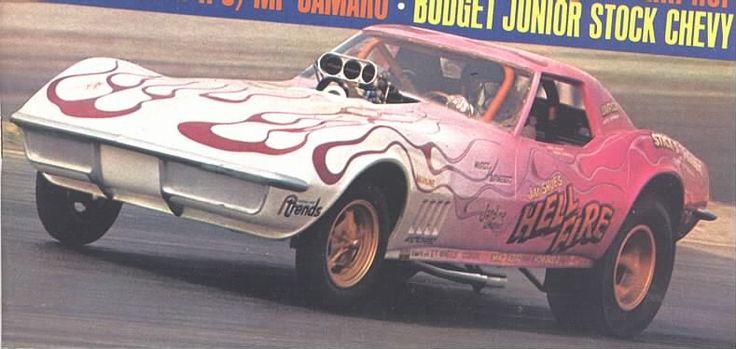 Jim Shue's Hell Fire Corvette FC Johnny Wright 7 11-69R&SS