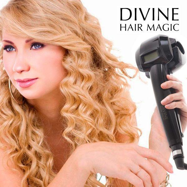 Ondulator de Par Magic Twists Dacă doriţi să aveţi bucle definite sau un păr moale şi ondulat în puţin timp, rapid şi uşor, ondulatorul de păr Magic Twists