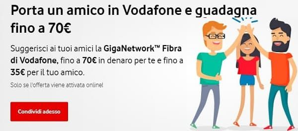 Porta Un Amico In Vodafone Scopri L Offerta Vodafone Unlimited Con Il Passaparola Invita Un Amico Avrai Un Bonus Di 35 Euro 6 Mesi Amico Porta Promozione