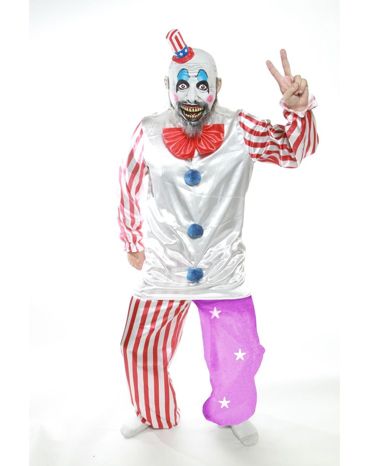 Rob Zombie Captain Spaulding Adult Costume – Spirit Halloween