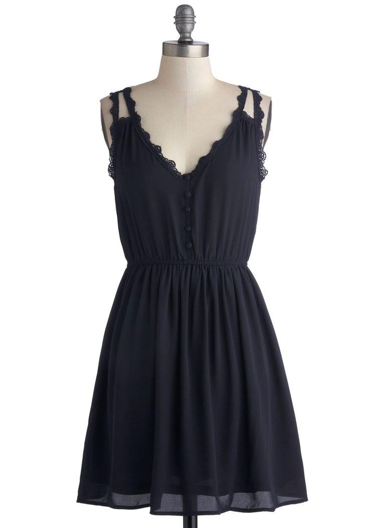 Farmer's Market Morning Dress, #ModCloth. My kind of a little black dress.