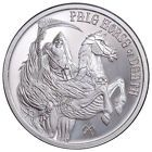 Four Horsemen Of The Apocalypse Pale Horse of Death 1 oz Silver Round, AVAILABLE Take a look #fourhorsemen #deathhorse #paledeath