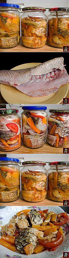 Как приготовить домашнюю рыбную консерву.