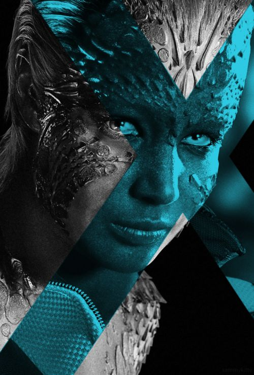 (Jennifer Lawrence) Mystique X-Men: Days of Future Past Fan Made Poster