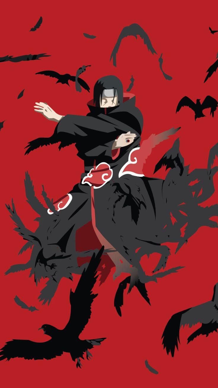 Fond d'écran Itachi Wallpaper / Les meilleurs fond d'écran / #naruto #manga #i…