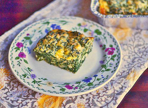Sephardic Spinach Pie via LittleFerraroKitchen.com #NoshOnBrunch