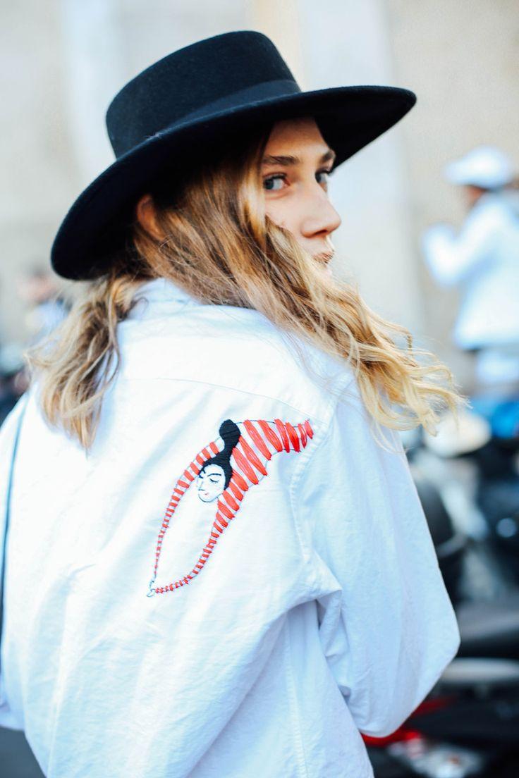 Street Style Paris Fashion Week Octubre 2015. Fotos de moda en la calle…