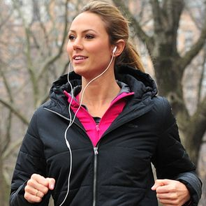35-Minute Interval Run Playlist. No watching the clock. You slow to a walk when the music slows and run when it changes to a faster song.