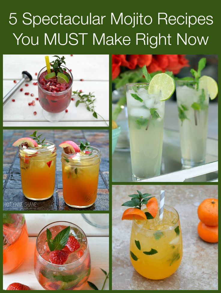 Mojito recipe roundup mojito recipes and beverage for Mix drinks with wine