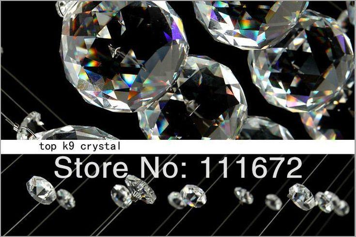 Gratis frakt 2013 flott design dobbel krystall 10 lysene Dia 600 * H2600mm moderne krystallysekroner, moderne belysning-in Lysekroner fra Lights & Lighting på Aliexpress.com | Alibaba Group