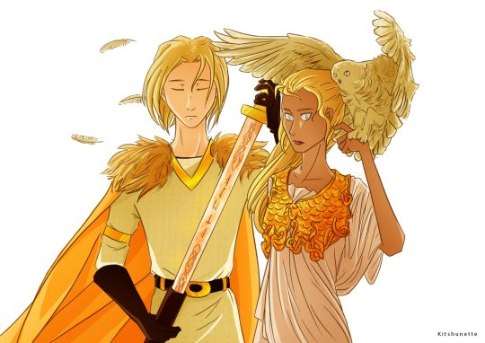 Son of Frey. Daughter of Athena