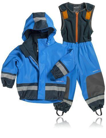 Regnställ / allvädersset i vind- och vattentätt material, DIDRIKSONS K BOARDMAN SET. Förstärkt med extra slitstarkt material på utsatta delar såsom knän och bak.