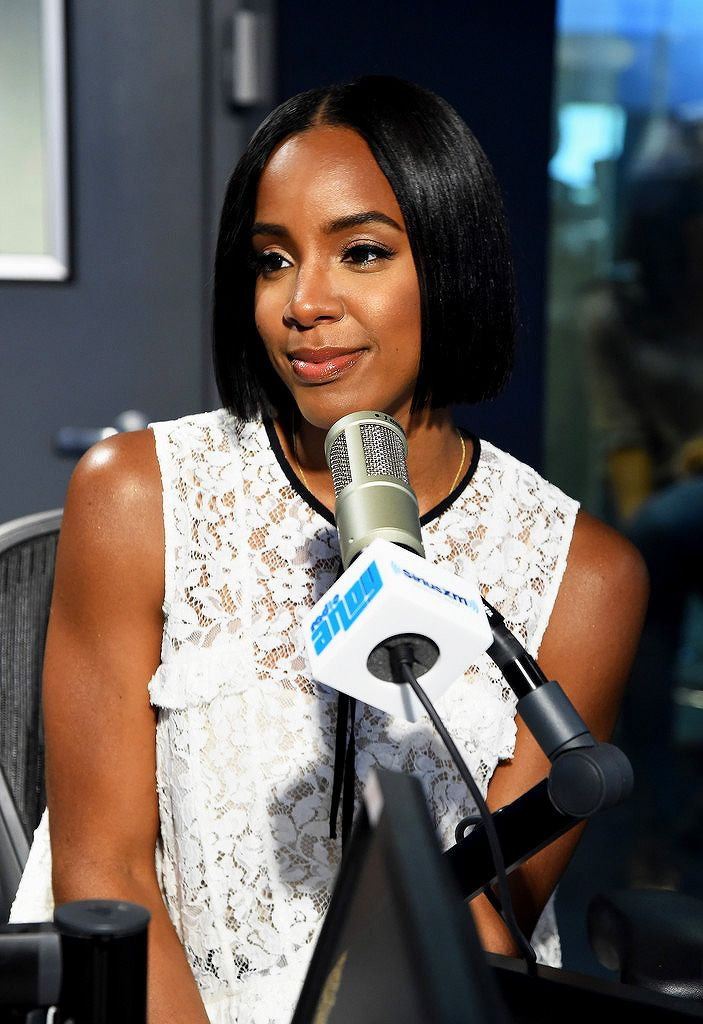 Kelly Rowland visits SiriusXM Studios on August 24, 2016 in New York City