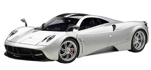Pagani Huayra (2011) in Silver (1:18 scale by AUTOart 78266) This Pagani Huayra (2011) Diecast Model Car is Silver and features working steering, suspension, wheels and also opening bonnet, boot with engine, doors. It is made by AUTOart and is 1:18 scale (approx. 24cm / 9.4in... more details available at https://perfect-gifts.bestselleroutlets.com/gifts-for-babies/toys-games-gifts-for-babies/product-review-for-pagani-huayra-2011-diecast-model-car/