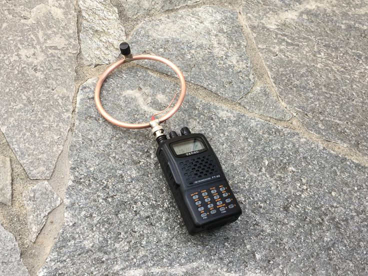 Mag Loop Antenna By N6VOA
