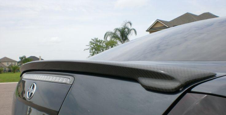 Scion tC Carbon Fiber Spoiler (OEM Style) #scion #tc #carbonfiber #spoiler