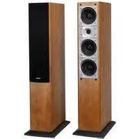 PIONEER S-H510V floorstanding speakers used as rear left and right speakers in the surround setup