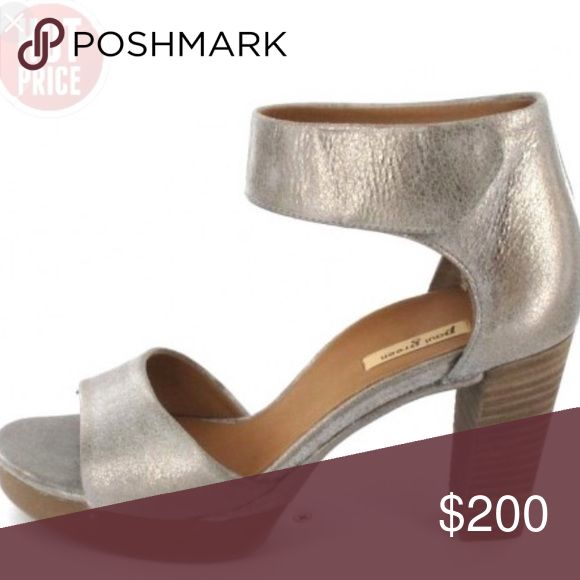 Paul Green Silver Sandal Heels The most comfortable pair of shoes I've ever tried on. You can dress down or up in them and they are perfect for ANY occasion. They're too big on me (I'm a 7) so that's why I'm selling them. Paul Green Shoes Heels