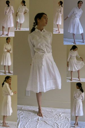Blouse+Skirt Pack - Standing 2 by kuroitsuki-stock