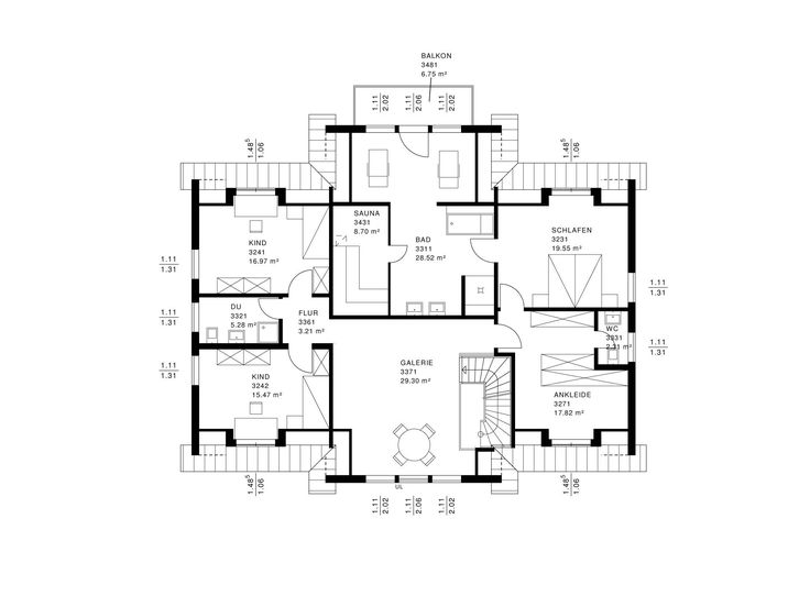1534 best ideen rund ums haus images on pinterest floor plans house floor plans and. Black Bedroom Furniture Sets. Home Design Ideas