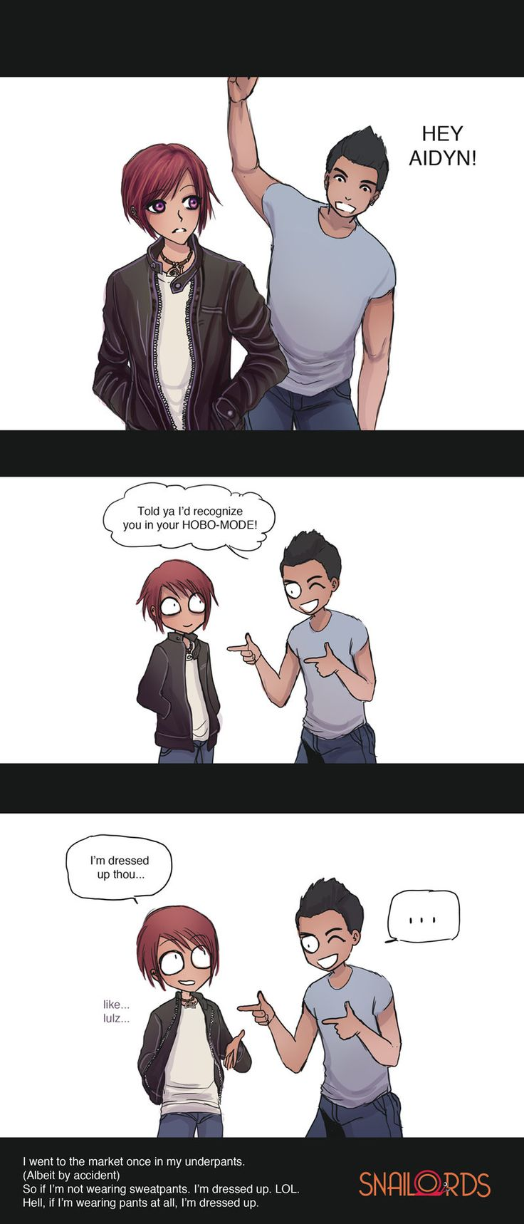 Your Hobo Mode by SnaiLords on DeviantArt