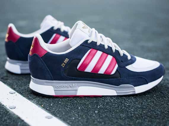 adidas zx 850 - navy/red/white