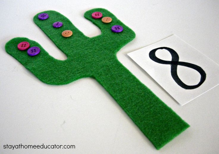 Desert Themed Preschool Activities- I want to count the buttons out on two cacti for comparing more/less!