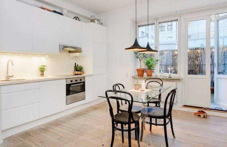 Bembeyaz mutfak.. #mutfak #kitchen #white #beyaz #şık #sade #asil