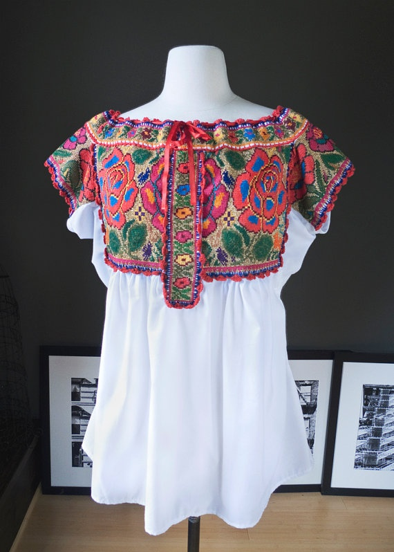 59 Best Traditional Mexican Blouses Handmade Embroidered