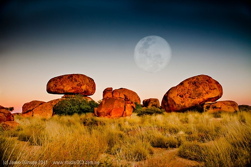 Devils Marbles Sunrise - Northern Territory.  One of my fav shots I captured on our trek north last year