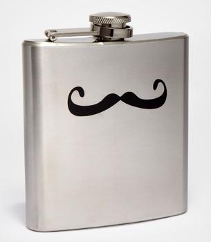 Mustache Flask.