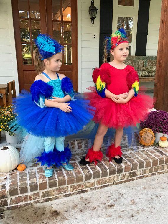 Kostüm Papagei Ara Kostüm Papagei Tutu Halloween-Kostüm