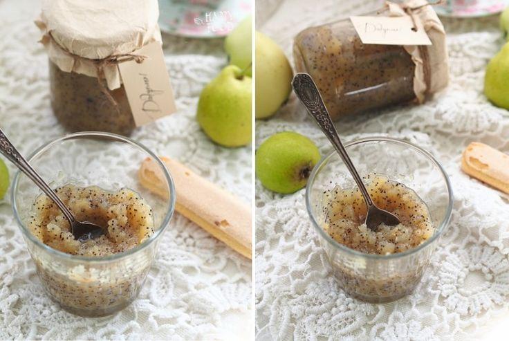 Грушево-яблочное варенье с маком и пряностямиHAPPYFOOD
