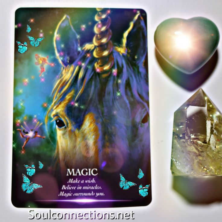 Your spiritual message for today is magic It may be a very