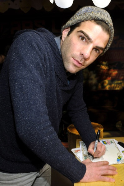 Zachary Quinto, known for his roles in Star Trek, American Horror Story, Margin Call, and Heroes #lgbt #celebrity