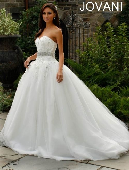 Jovani Wedding Dress  done exactly like the bodice but the rest is pretty