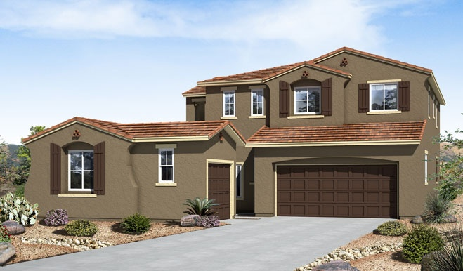 Paint Colors Kb Homes Tucson Elevation