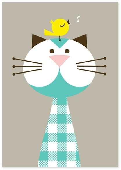Cute! #illustration #cute #cat