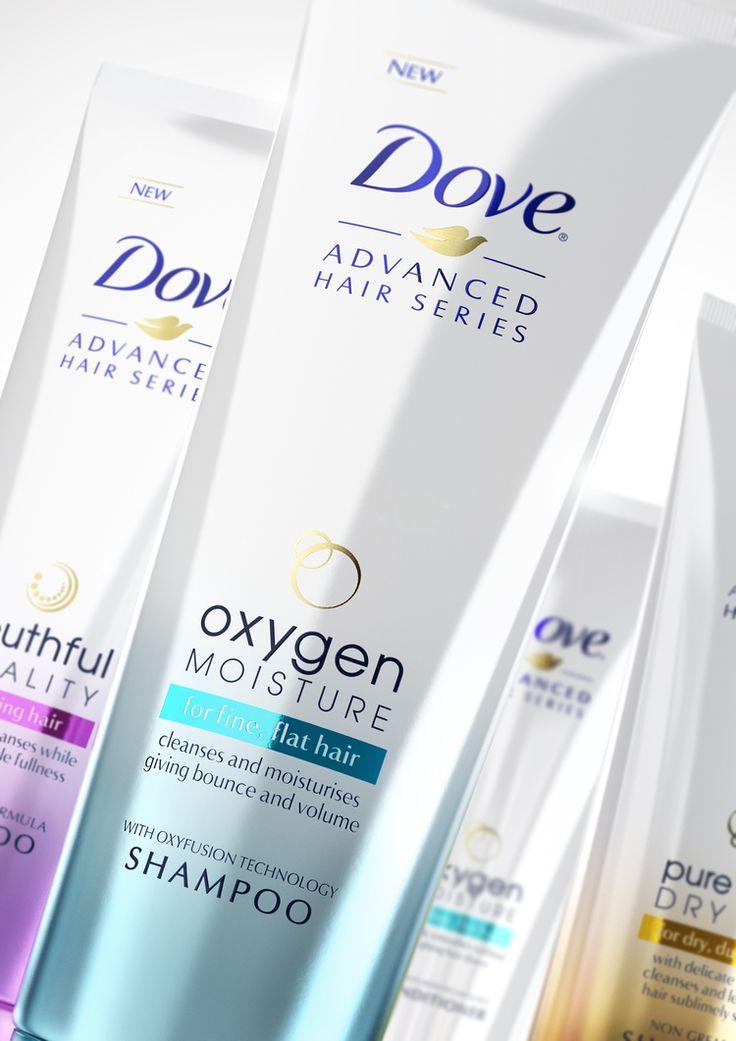 Dove Advanced Hair Series — The Dieline | Packaging & Branding Design & Innovation News