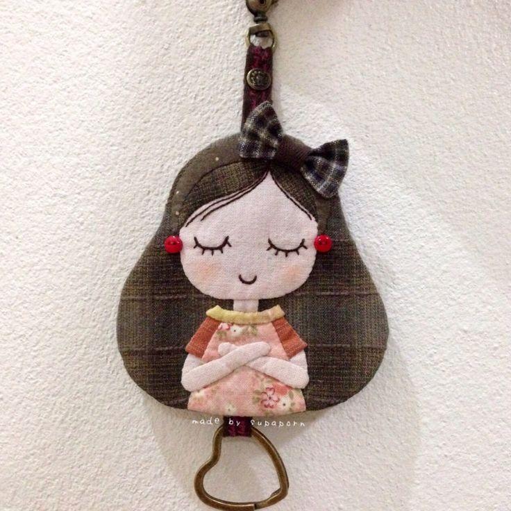 Key cover little girl