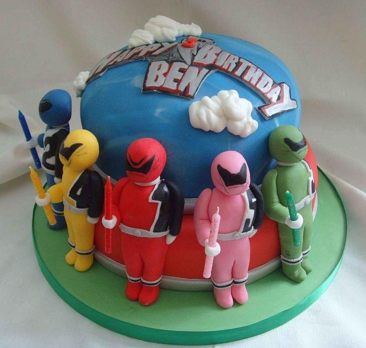 Power Rangers  on Cake Central